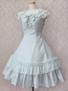 Victorian Maiden / One Piece / Chiffon Petal Ribbon Dress