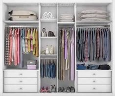 closet layout 505810601901369389 - Trendy Bedroom Closet Layout Clothes Source by Wardrobe Design Bedroom, Master Bedroom Closet, Bedroom Wardrobe, Wardrobe Drawers, Wardrobe Storage, Wardrobe Closet, Ikea Closet, Kids Wardrobe, Shoe Storage