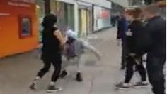 A teenaged British girl has been arrested for assaulting an 80-year-old Sikh man after a video of the incident went viral online. The elderly victim was punched in the face and shoved to the ground.