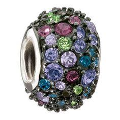 Jeweled Kaleidoscope Mixed & Black Swarovski S.S