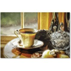 Trademark Fine Art Breakfast is Ready Canvas Art by Lois Bryan, Size: 30 x 47, Multicolor