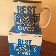 Best Dad Ever Mug Best Dad Ever Mug  Includes:  - Best Dad Ever Mug - Empty Mug Box  Each mug says BEST DAD EVER on both sides.   **Mug holds 13 oz.   **Mugs are dishwasher and microwave safe.   **All gifts and gifts baskets are brand new.**  **This item is sold by my company, My Lucky Baskets, LLC.** Other