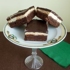 """First guest post in my new series, """"Let Mamma Get Some Sleep!"""" Irish Cream Brownies... perfect for St. Patrick's Day!"""