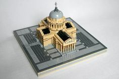 Martin Sýkora deserves much more attention for his architecture creations. Recently he modeled Arc de Triomphe and the Pantheon. The gorgeous models are s