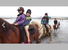 PhotoSnack | Ocean Beach Horse Treks and Horseback Riding Adventures NZ by kawhiahorsetreks
