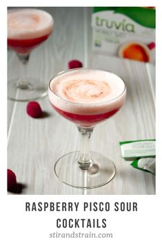 This post was made in partnership with Truvia®. Recipes and ideas are my own. I have been getting approximately one thousand emails since New Year's about where you should go for Valentine's Day. Sour Cocktail, Cocktail Making, Cocktail Drinks, Cocktails, Valentine's Day Drinks, Party Drinks, Yummy Drinks, Pisco Sour, Recipes