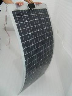 100 Watt Flexible Solar Panel small & lightweight $230 mention pin it pogsolar@gmail.com
