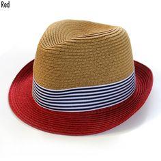 885dec0a00e3 These chic fedoras come in two colors  Black   Red Casquettes Chapeaux,  Chapeau Homme