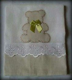 Resultado de imagen de aplique toallas bebes