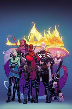 Uncanny Avengers #3 - Tradd Moore