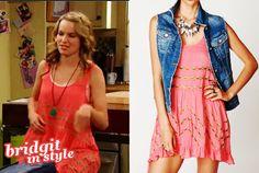 Cute dress Bridgit Mendler wore on Good Luck Charlie