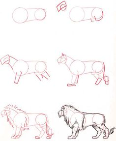Drawing Techniques How To Draw Easy Animals Step By Step Image Guide - How To.- Drawing Techniques How To Draw Easy Animals Step By Step Image Guide - How To. Drawing Lessons, Drawing Techniques, Drawing Tips, Drawing Sketches, Painting & Drawing, Drawing Ideas, Sketching, Learn Drawing, Drawing Stuff