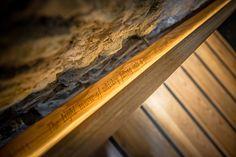 Irish Whiskey Academy Home for Irish Distillers, Pernod Ricard: Stair railing detail