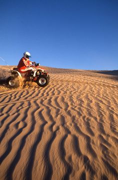 ATV Recreation at the Little Sahara - Photograph by Frank Jensen.  Utah is loaded with so much different terrain in close proximity!