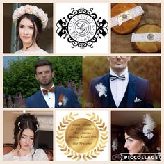 Handcrafted bespoke, couture accessories from Lilly Dilly's for all special occasions. #accessories #wedding #groom #bride #hair #bow tie #button hole #boutonniere #garter #flower crown #bespoke #Lilly Dilly's #special #party