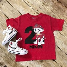 Where's all my Paw Patrol fans?! New Marshall Tshirts and converse are live check them out!