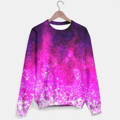 Galaxy pattern fashion trend Sweater  by ESZAdesign™ Patterns & Art Online GiftShop