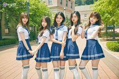 "South Korea's ""Idol School"" proves Korean idols are more than just pretty faces【Pics & Vids】 School Uniform Outfits, School Girl Outfit, Girl Outfits, Cute Outfits, School Girl Japan, Korean Best Friends, Japanese School Uniform, Idole, Ulzzang Korean Girl"