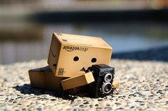 danbo has a rollei: by flickr user sky-train