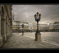 Plaza Maria Pita (Coruña), por Paco Soler