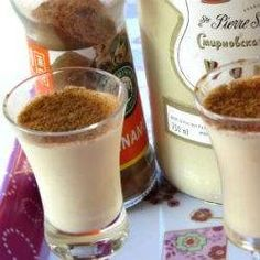 Incredibly delicious, these milk tart shooters are addictive! Drinks Alcohol Recipes, Milk Recipes, Yummy Drinks, Great Recipes, Dessert Recipes, Desserts, Alcoholic Drinks, Beverages, Favorite Recipes