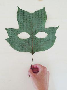 leaf Peeper : Kirsten Rickert : embossed poplar tulip leaf