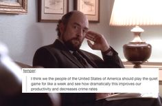 "Tumblr Comments Added To ""The West Wing"" Is Weirdly Perfect"
