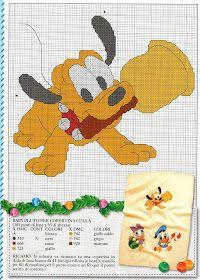 ♥Meus Gráficos De Ponto Cruz♥: Natal Baby Disney em Ponto Cruz