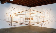 Installation Works Create Multi-Dimensional Spaces Of Imaginary Landscapes | The Creators Project