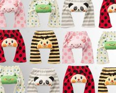 Perfect for shuffle bum babies Grab a 5-Pack of Animal Baby Pants for $20 from Firstin Ltd. Enjoy the piece of mind knowing you won't go through the 'pant stash' too quickly