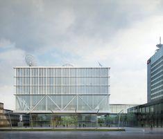 Durisch + Nolli · Nuova Sede per la Televisione Svizzera SRF Next a Zurigo