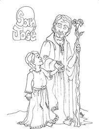 Dibujo para colorear. #SanJose. www.evangelizacioncatolica.org