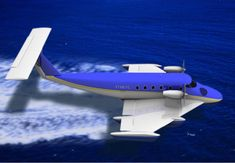 Flying Ship, Flying Boat, Ground Effects, Metal Buildings, Airplane, Fighter Jets, Aviation, Aircraft, Concept