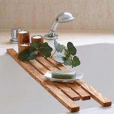 Badewannenablage aus Olivenholz ca. 75 cm Länge