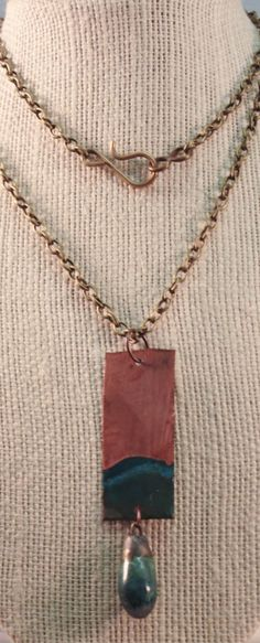 Molera  Handmade copper and porcelain by juliettemwilliams on Etsy, $50.00