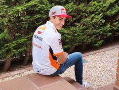 Marc Marquez Marc Marquez, Honda, Rain Jacket, Windbreaker, Jackets, Fashion, Down Jackets, Moda, La Mode