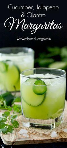Cucumber Jalapeño Cilantro Margarita