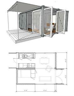 Дом из 2 контейнеров проект 8