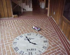 I would like to do this on my walkway, I have already did this on my porch that reselmbles tiles. Hometalk :: Painted Concrete Floors That Last and Last and Last