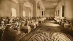 Barberà Masip. Principos S.XX Sala de cunas de la Inclusa valenciana en una imagen de principios del siglo XX.