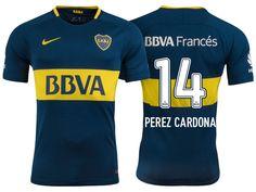 Boca Juniors Jersey sebastian perez cardona Home 17-18 Shirt