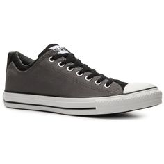 Converse Men's Chuck Taylor All Star Dual Collar Sneaker - Grey/Black (35 CAD) ❤ liked on Polyvore featuring mens, men's shoes, men's sneakers, shoes, men, mens shoes, sneakers, guys clothes y test category