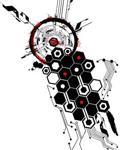 My Most Favorite Geometric Tattoo Cyberpunk Tattoo, Tech Tattoo, Tattoos, Art Tattoo, Trash Polka Tattoo Designs, Tattoo Trash, Circuit Tattoo, Geometric Tattoo Design, Tattoo Designs