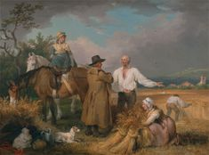 The Reapers, James Ward, 1769-1859 from the Yale Center for British Art