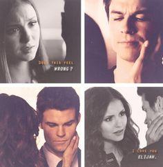 Elena x Damon Katherine x Elijah