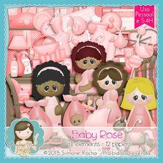 Kit Digital Baby Rose By Simone Rocha