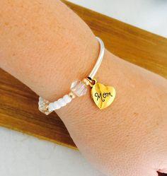 DIY bracelet for Mom or Grandma for Mother's Day or Birthday!