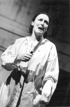 Fiona Shaw as Medea. The first play I saw in London was her Hedda Gabler-stunning. The greatest stage actress living.