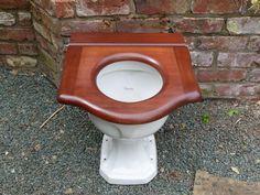 Antique Mahogany High Level Throne Toilet Seat – DragonQuarry Antiques & Restoration