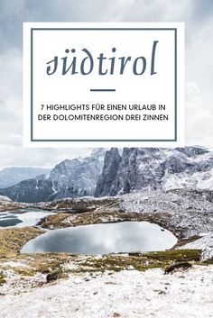 7 highlights for a holiday in the Dolomites Three Peaks in South Tyrol. The Dolomite region Drei Zinnen in South Tyrol has a beautiful mountain landscape Mountain Formation, Places To Travel, Places To Go, South Tyrol, Mountain Hiking, Mountain Landscape, Italy Travel, Beautiful Landscapes, Land Scape